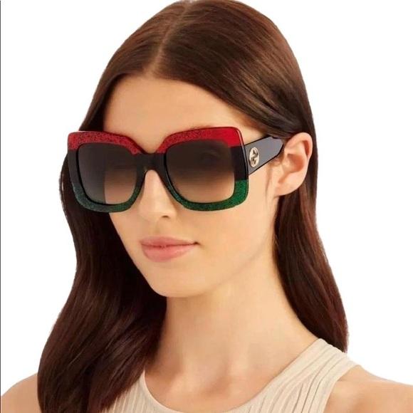 Gucci Accessories   Oversize Womens Sunglasses   Poshmark e427bf39e222